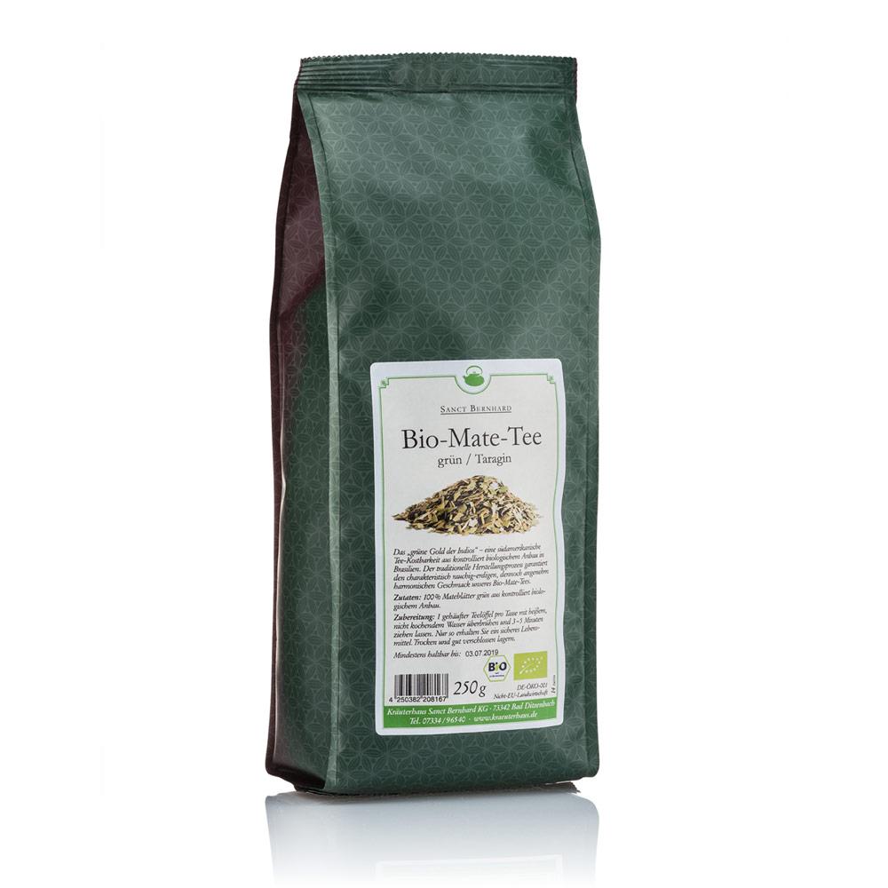 Bio-Mate-Tee grün/Taragin
