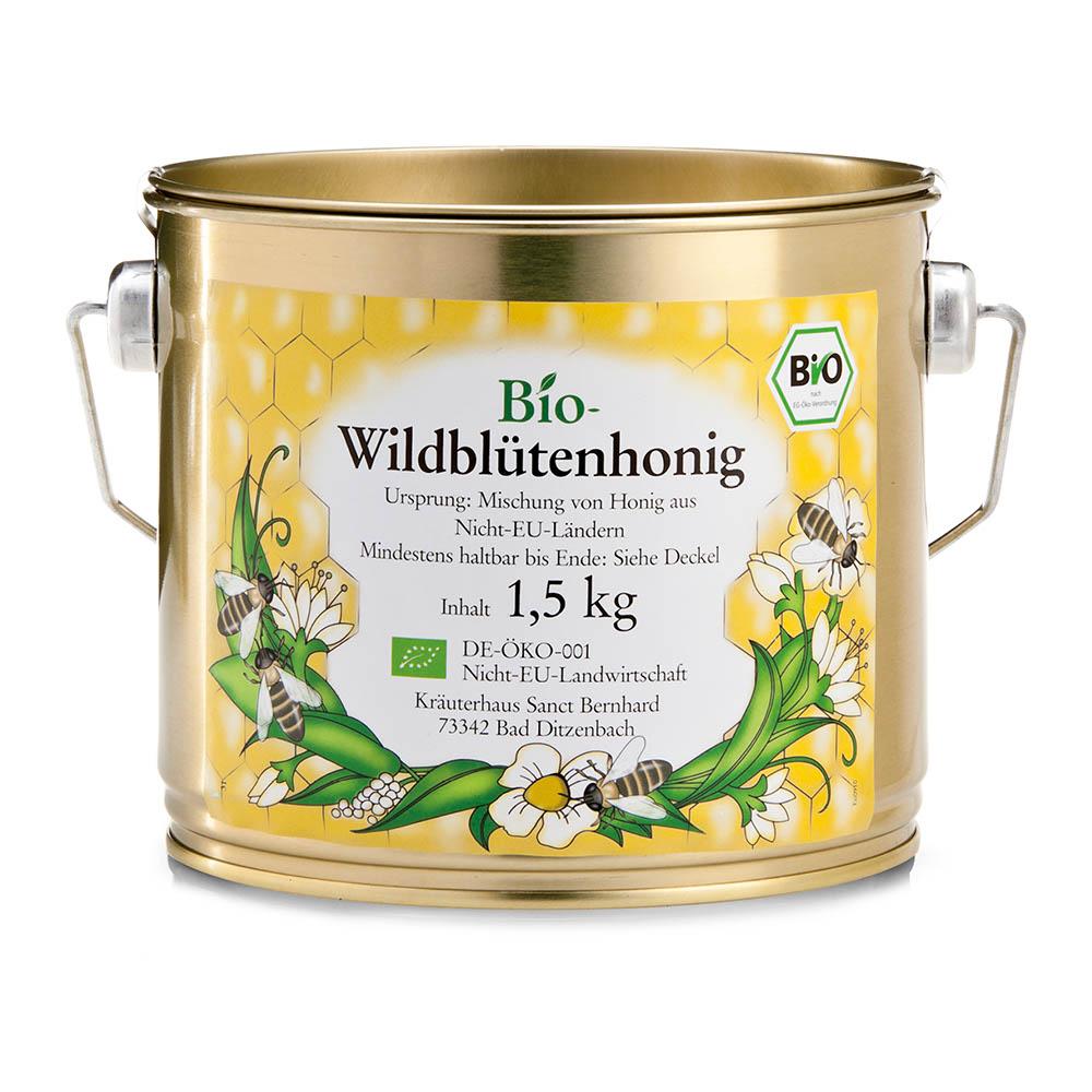 Bio-Wildblütenhonig
