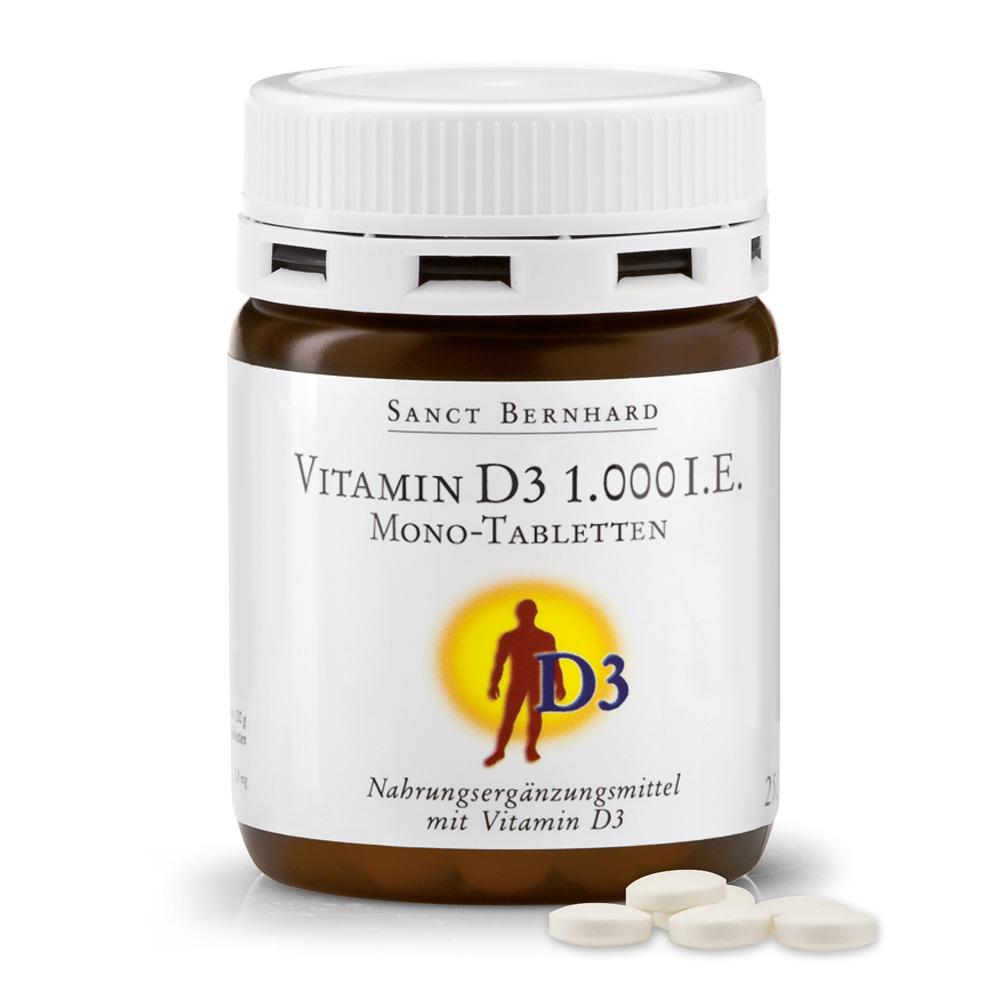 vitamin d 1000 i e mono tabletten sanct bernhard. Black Bedroom Furniture Sets. Home Design Ideas