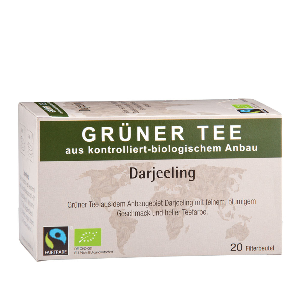 Bio-Grüner-Tee Darjeeling