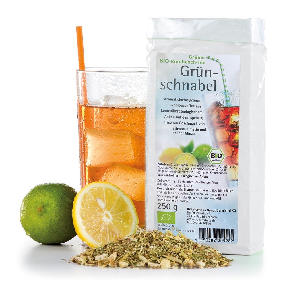 Grüner Bio-Rooibusch-Tee Grünschnabel