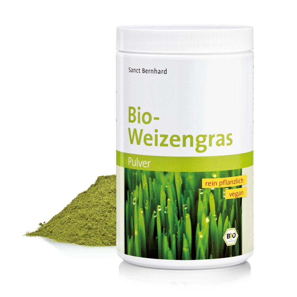 Bio-Weizengras-Pulver bei Kräuterhaus.de - Sanct Bernhard