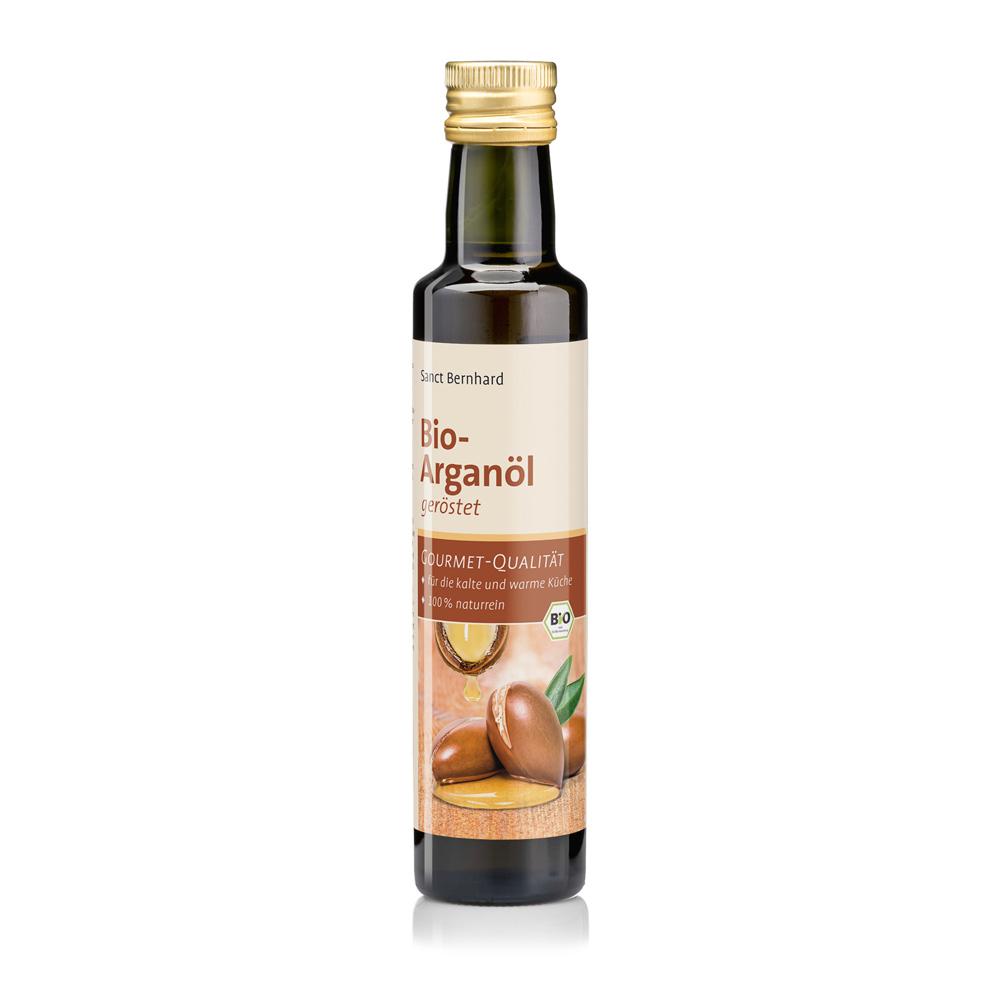 Bio-Arganöl geröstet, kalt gepresst