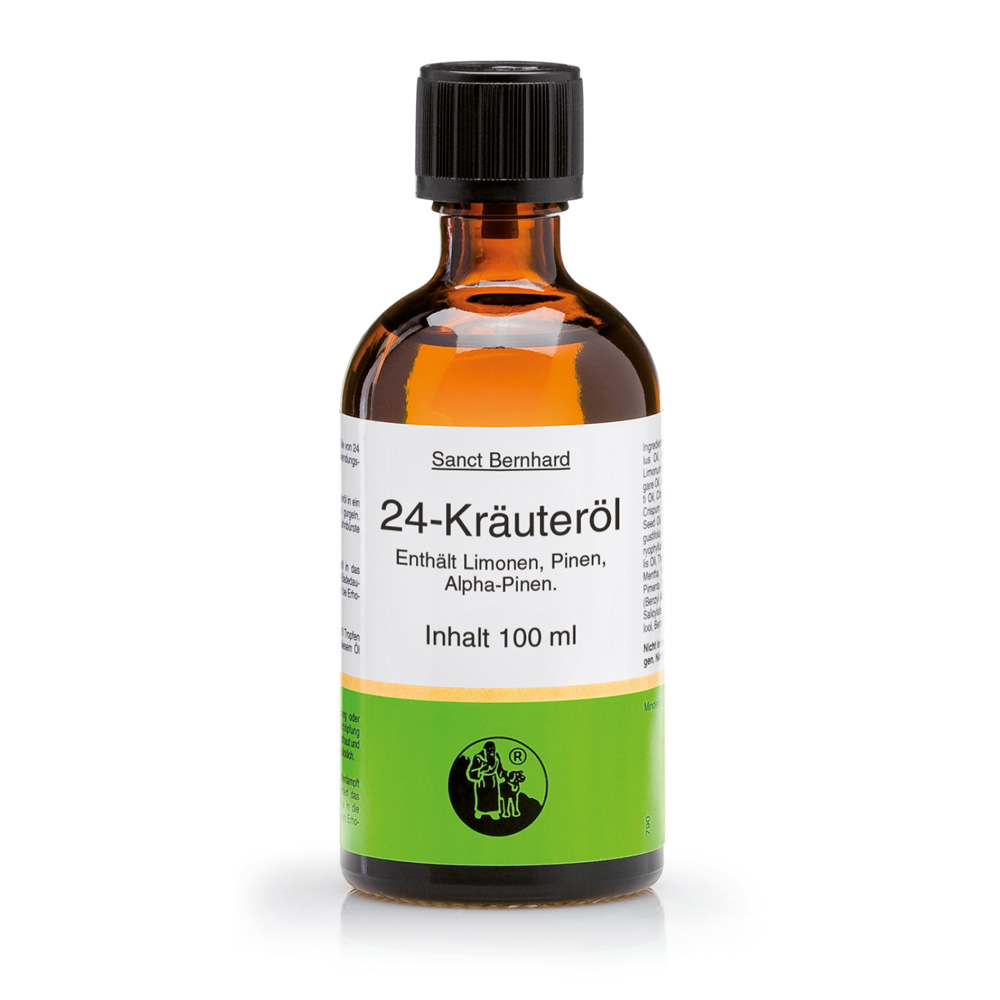 24 Herbs Oil