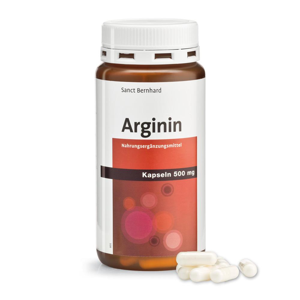 Arginin-Kapseln 500 mg