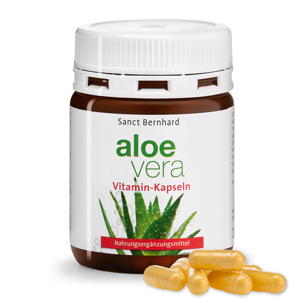 Aloe-Vera-Vitamin-Kapseln
