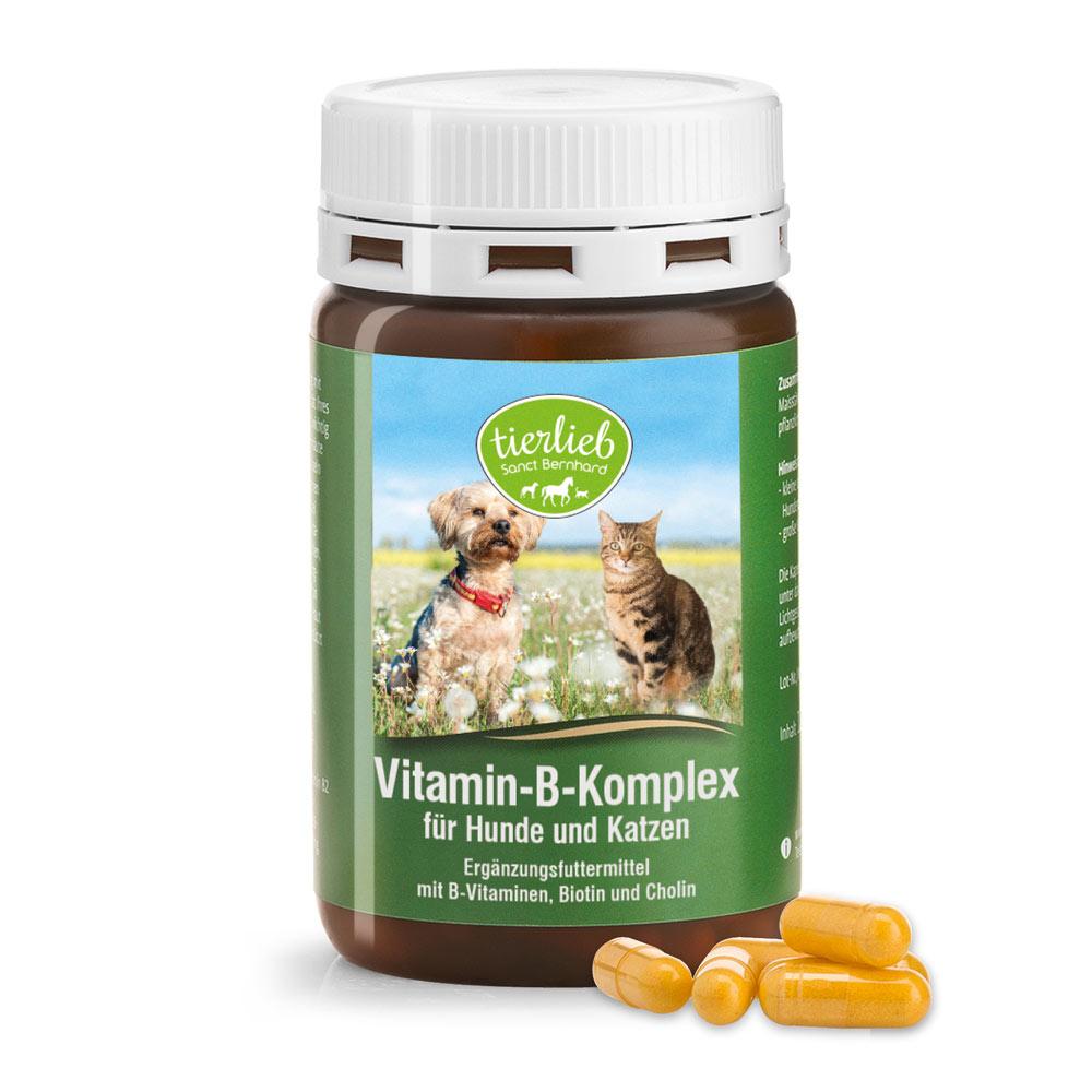 tierlieb Vitamin-B-Komplex-Hunde-Kapseln