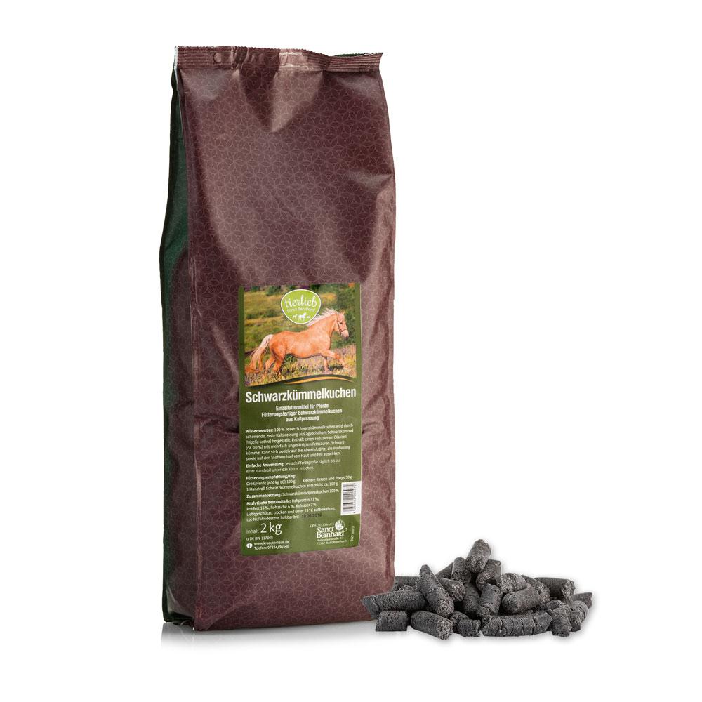 Schwarzkümmelkuchen - Einzelfuttermittel für Pferde