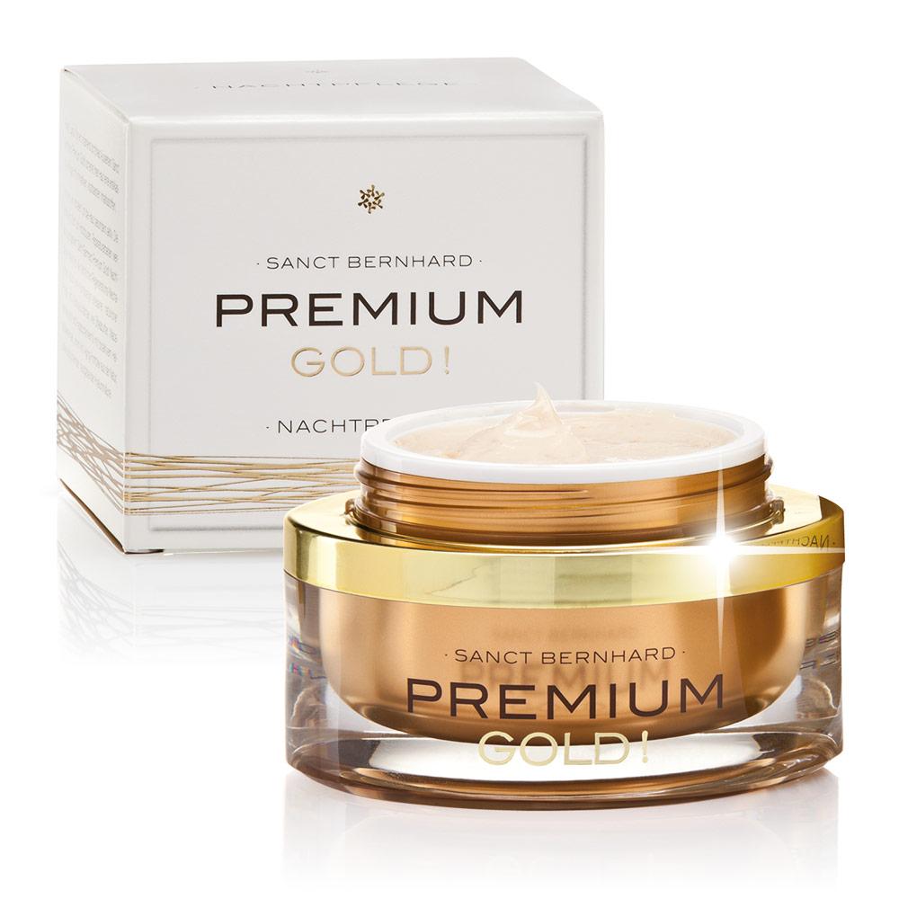 Premium Gold! Nachtpflege
