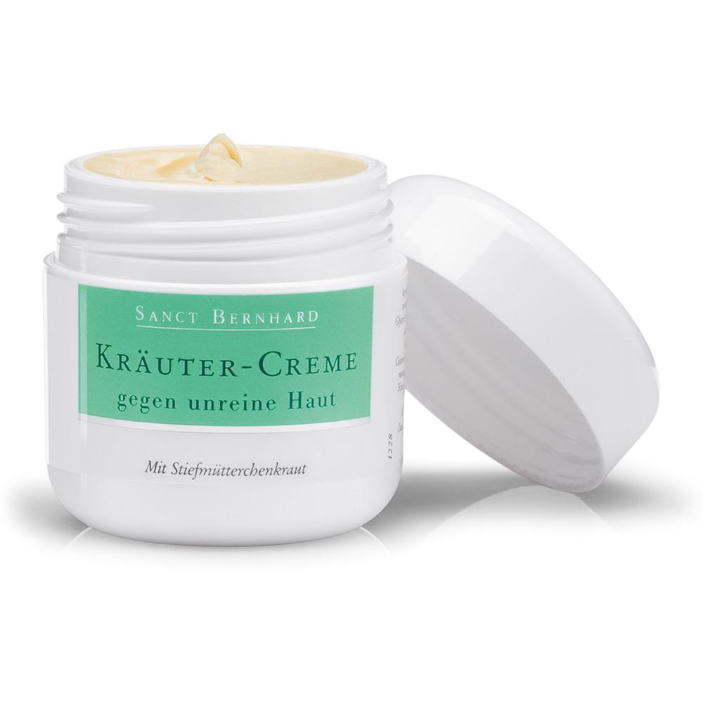 Kräuter-Creme gegen unreine Haut | Sanct Bernhard