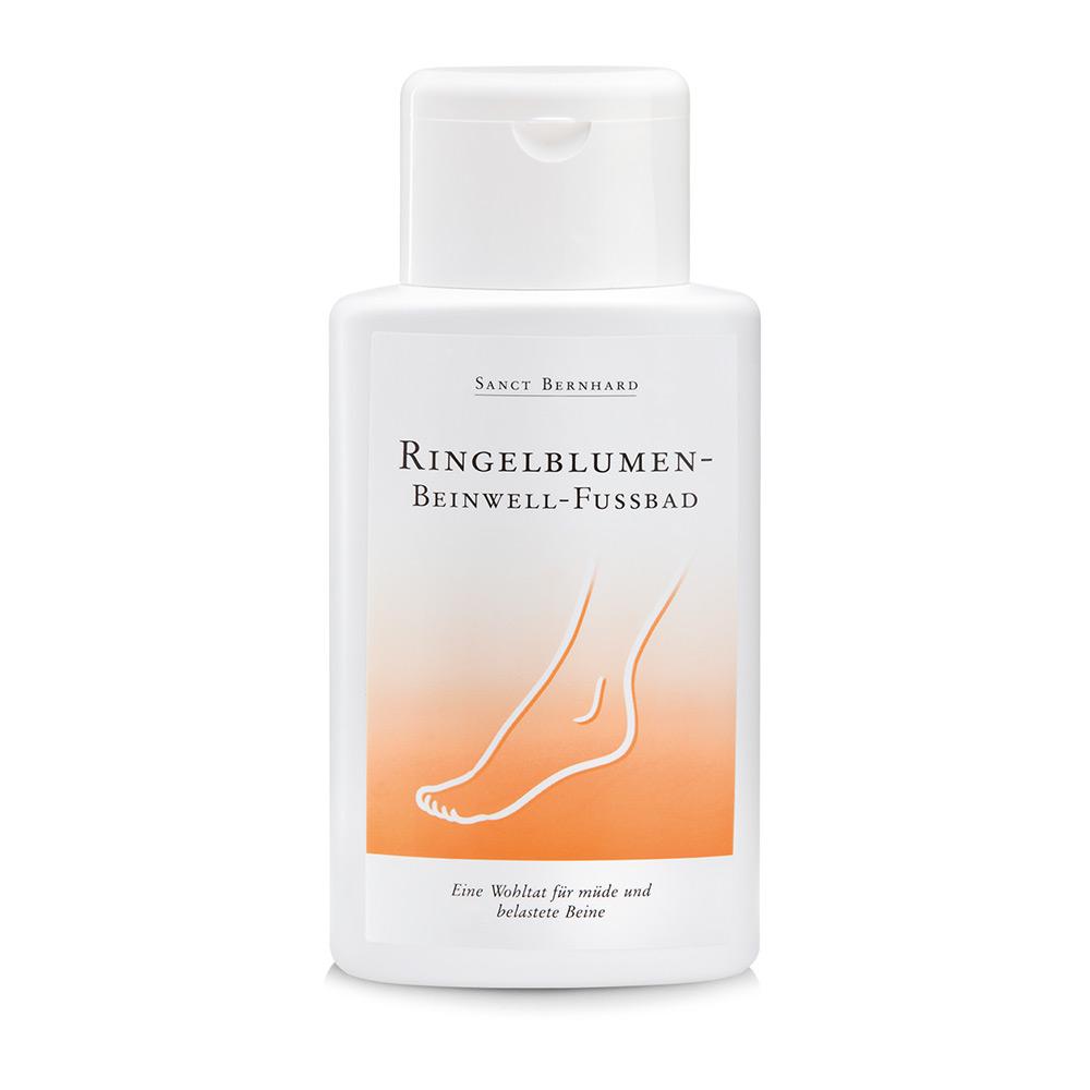 Ringelblumen-Beinwell-Fußbad
