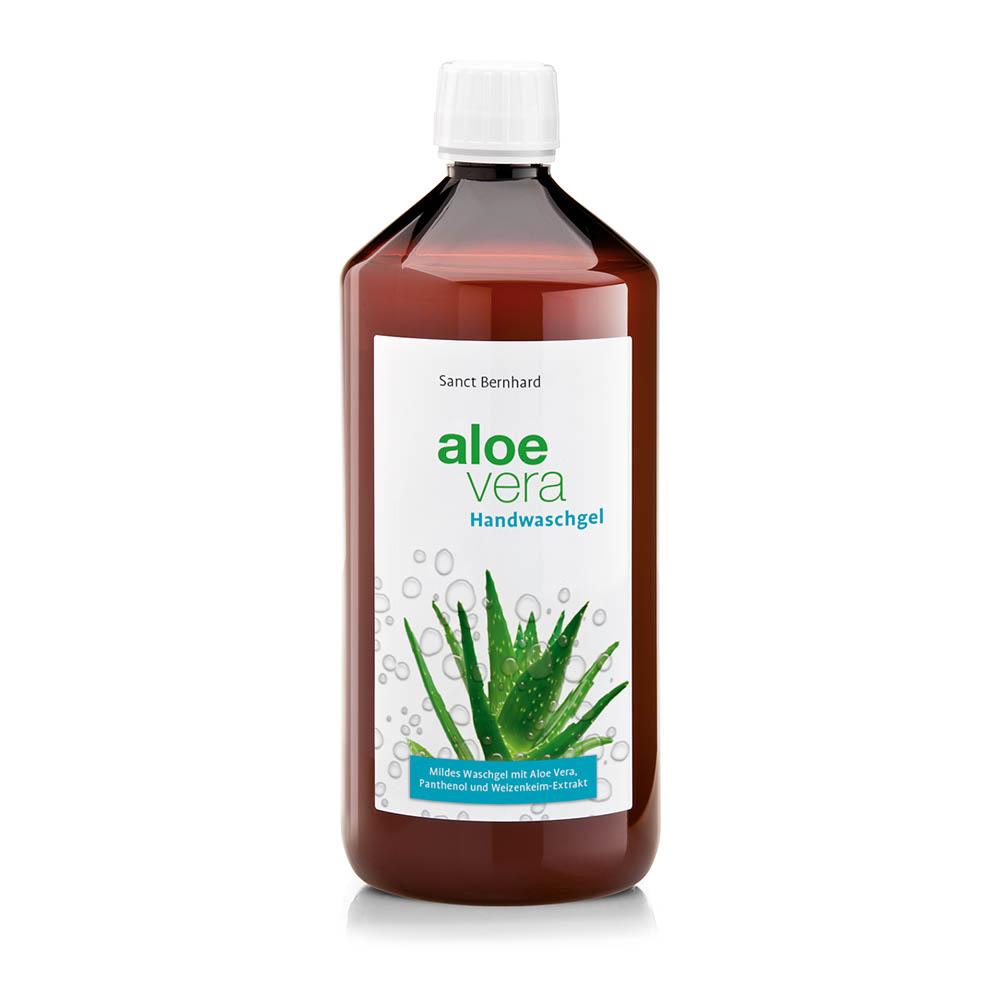 Kräuterhaus Sanct Bernhard Aloe-Vera-Handwaschgel 1 Liter 1402