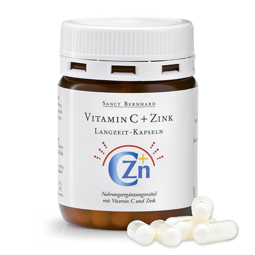 vitamin c zink langzeit kapseln kr uterhaus sanct bernhard. Black Bedroom Furniture Sets. Home Design Ideas