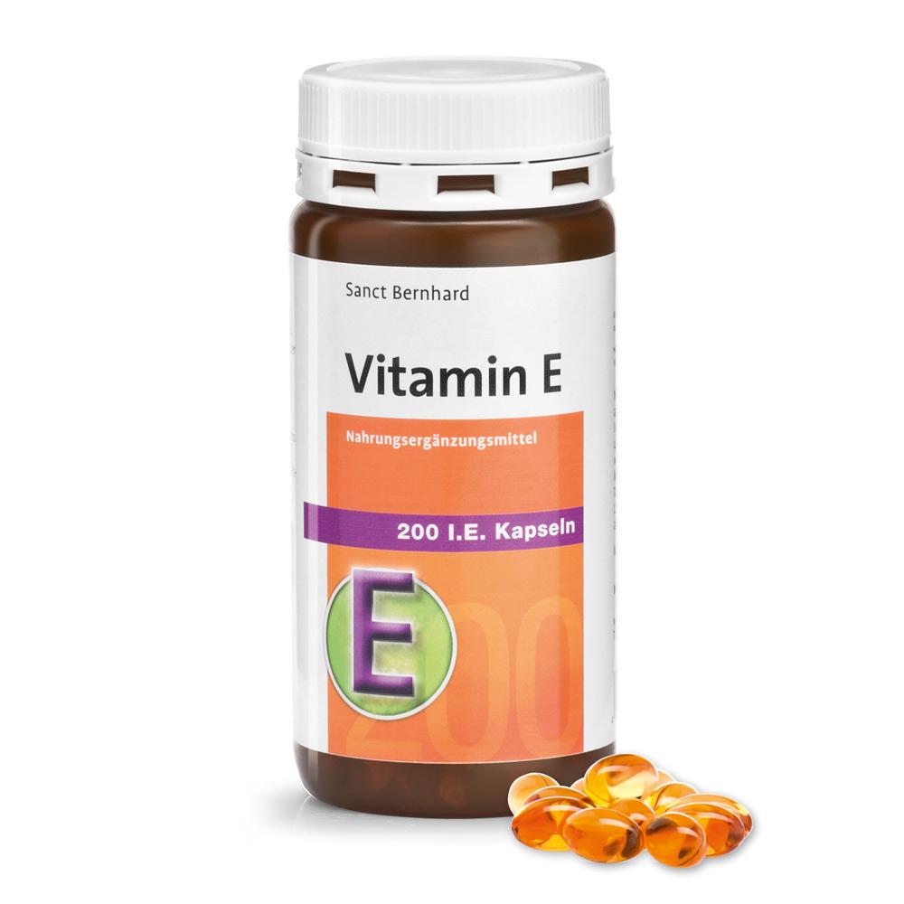 Vitamin E 200 I.E. Kapseln bei Kräuterhaus.de - Sanct Bernhard