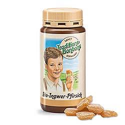 Kräuterhaus Sanct Bernhard Traditions-Bonbons Bio-Ingwer-Pfirsich 2820